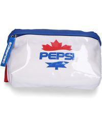 DSquared² Belt Bag Pepsi Pvc - White