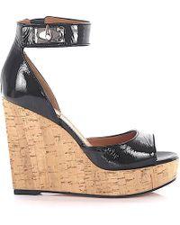 Givenchy Platform Sandals - Black