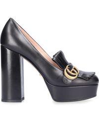Gucci Platform Pumps C9d00 - Black