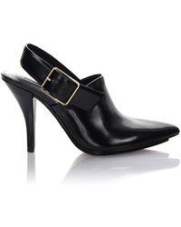 Alexander Wang Slingback Court Shoes - Black