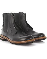 Dolce & Gabbana - Chelsea Boots Calfskin Black - Lyst