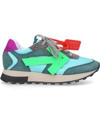 Off-White c/o Virgil Abloh Low-top Trainers Hg Runner - Blue