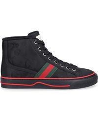 Gucci Gucci Tennis 1977 High-top Sneakers - Black