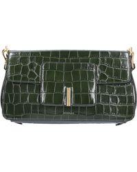 Wandler Women Handbag Georgia Calfskin Logo Embossed Green