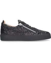 Giuseppe Zanotti Schuhe Sneaker low FRANKIE Glitter - Schwarz