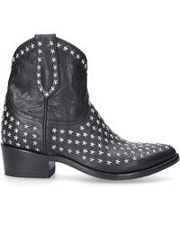 Mexicana Boots Black Laguna Star