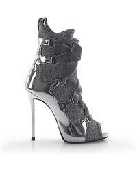 Giuseppe Zanotti Heeled Ankle Boots Natalie - Metallic