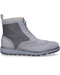 Swims Lace Up Shoes Motion Wing Gum - Grey