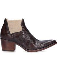 Alberto Fasciani Ankle Boots Brown Xenia