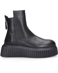 Agl Attilio Giusti Leombruni Ankle Platform Boots D751507 - Black