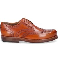 Heinrich Dinkelacker Business Shoes Derby 3087 Calfskin - Natural