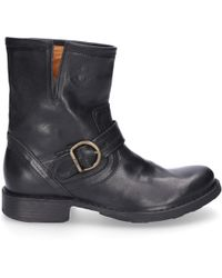 Fiorentini + Baker Boots Black Eli
