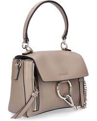 07061c14bada Chloé - Women Handbag Shoulder Bag Fay Day Mini Leather Grey - Lyst