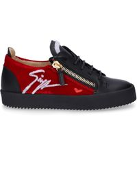 Giuseppe Zanotti Low-top Trainers May Lond. - Black