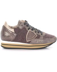 Philippe Model Low-top Trainers - Brown