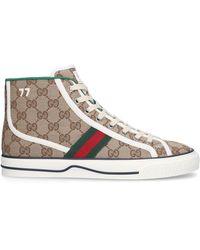Gucci Tennis 1977 High Top Sneaker - Natural