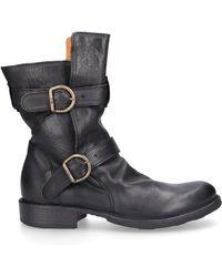 Fiorentini + Baker Ankle Boots Black Eternity 713
