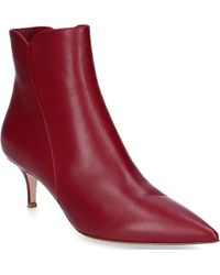 Gianvito Rossi - Pointed Ankle Boots - Lyst