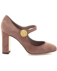 Dolce & Gabbana Court Shoes Mary Jane Saude Pink