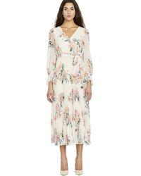 Buffalo David Bitton Angelique Print Dress - Wd1476 - Natural
