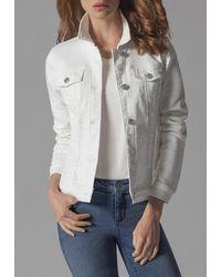 Buffalo David Bitton Arista Long Sleeves Jacket - White