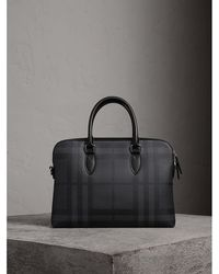Burberry - The Slim Barrow In London Check - Lyst