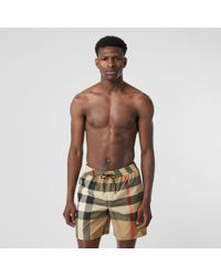 Burberry Exploded Check Swim Shorts - Multicolour