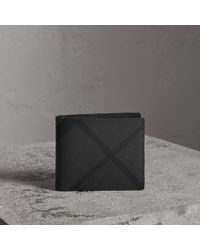 Burberry - London Check Bifold Wallet With Removable Card Case - Lyst