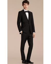 Burberry - The Chelsea – Slim Fit Wool Mohair Tuxedo - Lyst