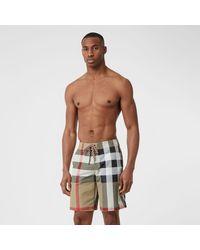 Burberry Check Swim Shorts - Multicolor