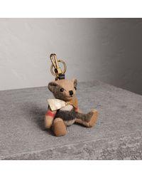 Burberry - Thomas Bear Charm With Rucksack - Lyst