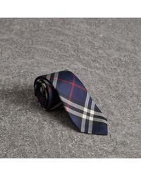 Burberry - Modern Cut Vintage Check Silk Tie - Lyst