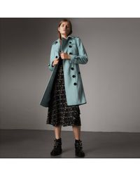 Burberry - Sandringham Fit Cashmere Trench Coat - Lyst