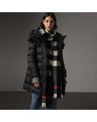 Burberry - Detachable Hooded Down-filled Puffer Coat - Lyst
