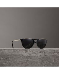 053a9ae66d2 Lyst - Burberry Men s Be4222f 30108g Sunglasses in Green for Men