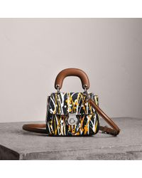 Burberry - The Mini Dk88 Splash Top Handle Bag - Lyst