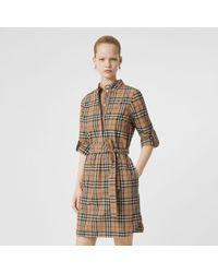 a634c461e527e Robes Burberry femme à partir de 110 € - Lyst