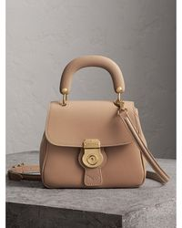 Burberry - The Small Dk88 Top Handle Bag - Lyst