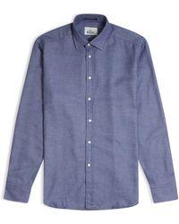 B.D. Baggies Bradford Cross Stitch Shirt - Blue