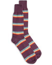 Burrows and Hare Rainbow Socks - Multicolour