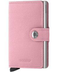 Secrid Rfid Miniwallet - Pink