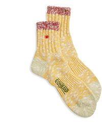 Anonymous Ism Gohemp Slub Q Sock - Yellow
