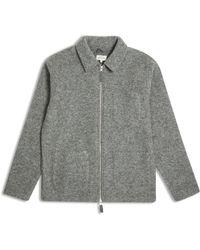 Hartford Work Zip Jacket - Grey