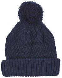 495b4d1b6b7 Ben Sherman Marl Bobble Hat in Blue for Men - Lyst