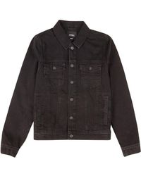Burton - Black Harry Denim Jacket - Lyst