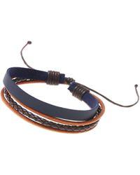 Burton Leather Wrap Bracelet - Brown