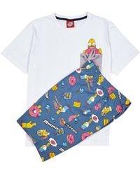 Burton - Homer Donut Pyjama Set - Lyst