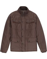 Burton - Chocolate Waxed Four Pocket Jacket - Lyst