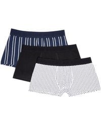 Burton - 3 Pack Vertical Stripe Hipster Pants - Lyst
