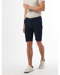 Burton Navy Pique Shorts - Blue